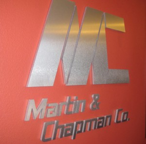 Metal Letter Signs for Reception Areas