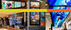 Restaurant window graphics for Orlando FL