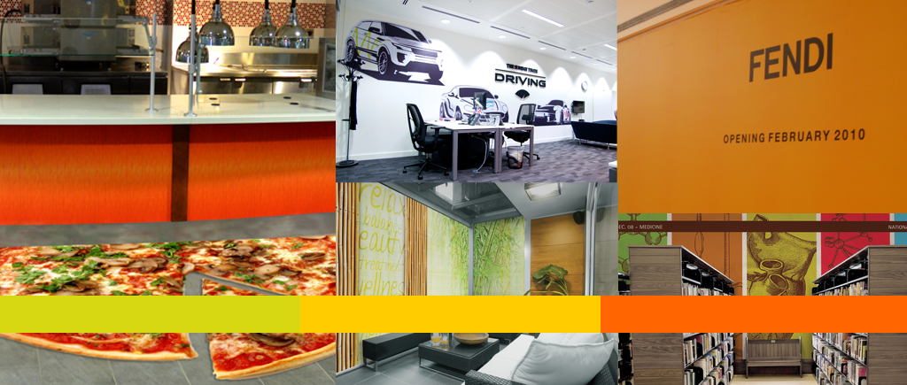 Using Wall Graphics Throughout Your Orlando Business