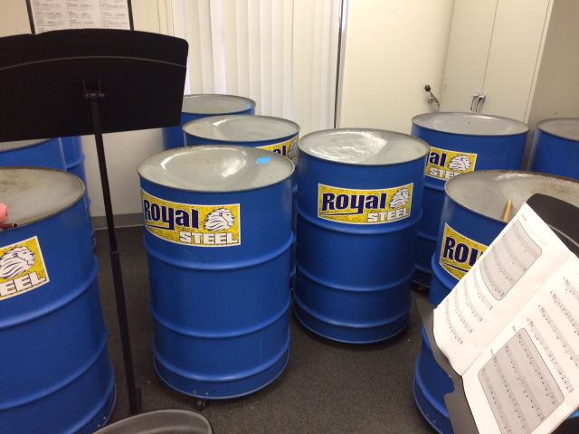Barrel drum magnets for school bands Orlando