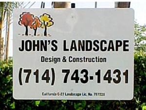Contractor Yard Signs Orlando
