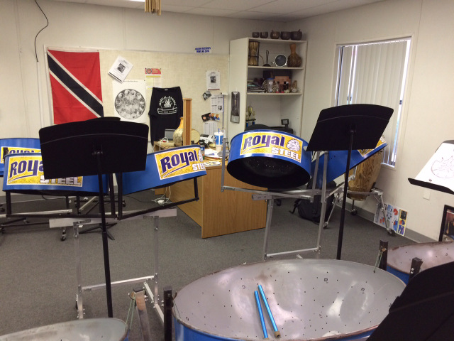 Steel drum magnets for school bands Orlando