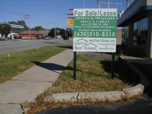 Commercial Real Estate Sign Signs