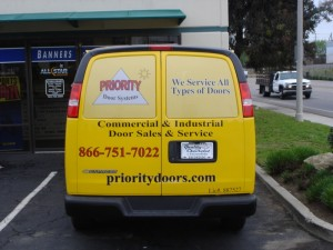 Vehicle Graphics for Contractors Orlando