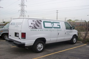 Contractor Vehicle Graphics Longwood FL