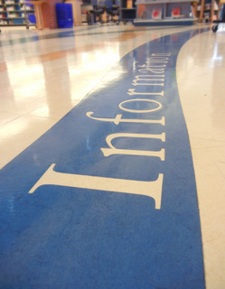 Directional Floor Graphics Orlando