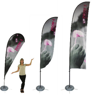 Trade show banners and flags for Orlando