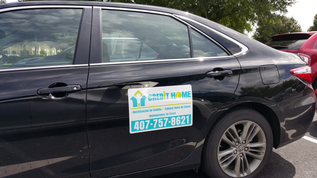 Car magnets for new businesses in Orlando