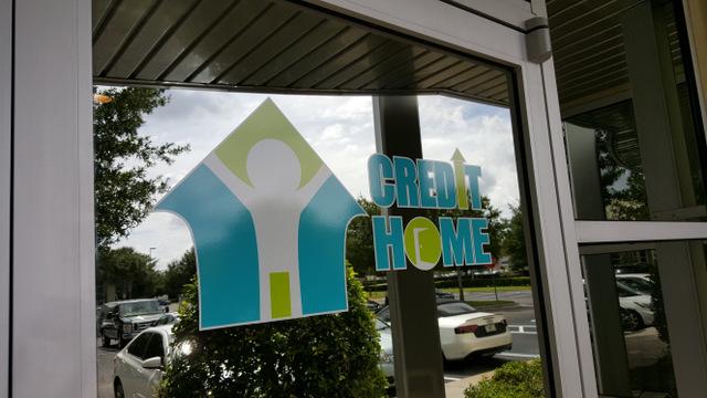 Vinyl door graphics for new businesses in Orlando