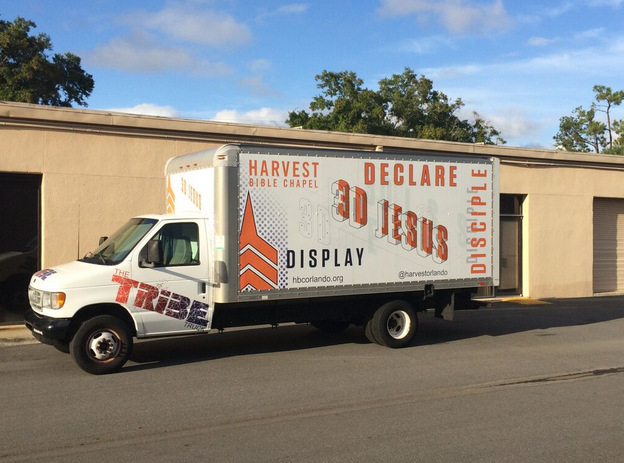 Box Truck Wraps Orlando