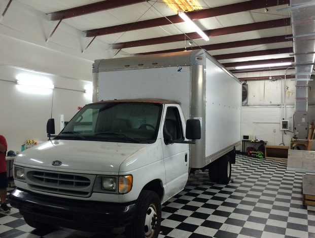Vehicle wraps for Box Trucks in Orlando