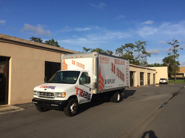 Promotional Box Truck Wraps Orlando