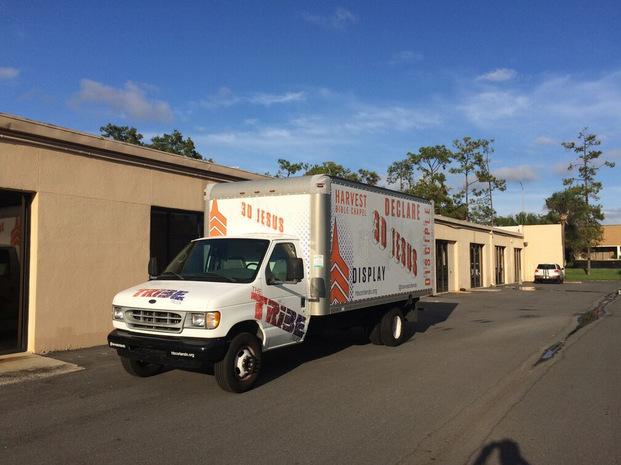 Promotional Box Truck Wraps Orlando