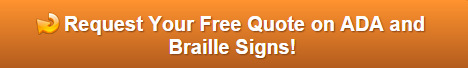 Free Quote on ADA and Braille Signs Winter Haven FL