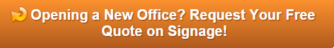 Free quote on new office signs and graphics in Orlando