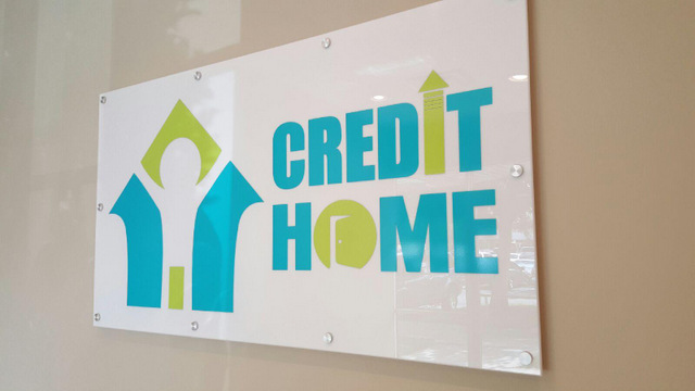 New Business Signage and Graphics for Credit Home in Orlando!