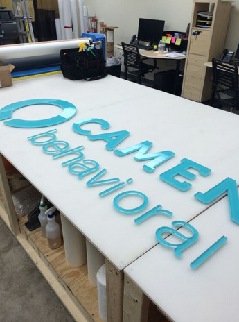 Dimensional letter signs for Casselberry FL