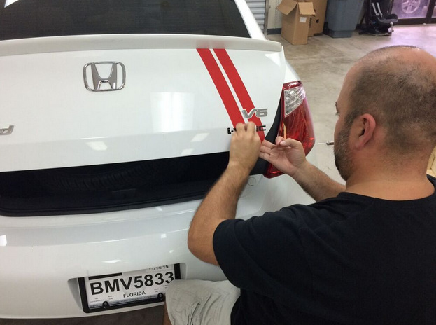 Personal car graphics Orlando FL