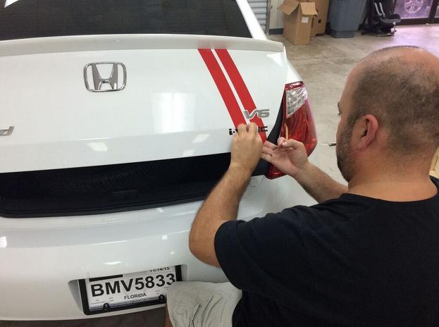 Personal car graphics Orlando FL