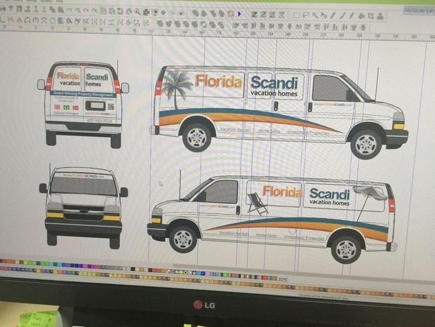 Vehicle Wrap Design Proofs Orlando