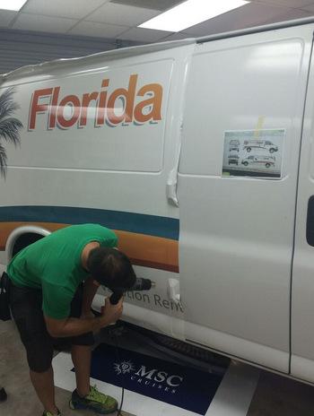 Custom Van Wraps Kissimmee FL
