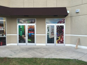 Vinyl Window Graphics Orlando FL