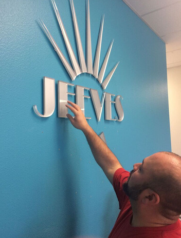 Lobby Sign Installation in Orlando FL
