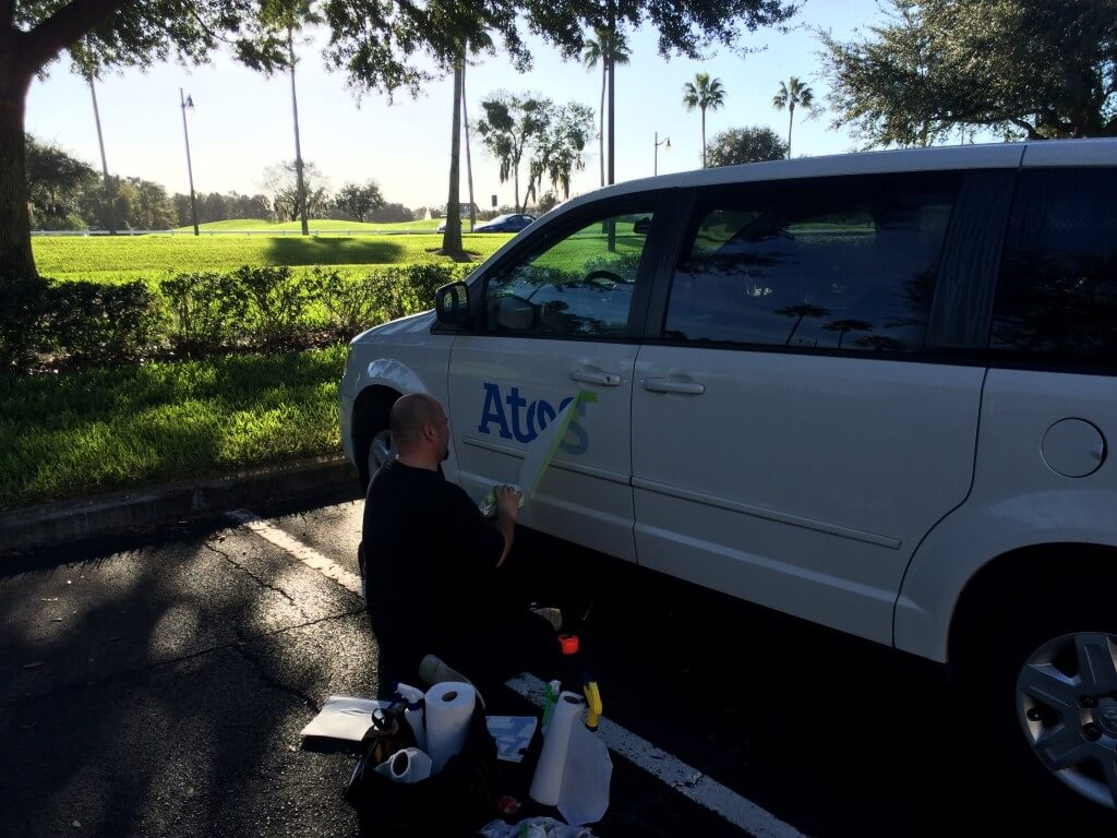 Install vehicle graphics in Orlando FL