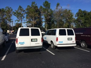 Rebrand with vehicle graphics in Orlando FL