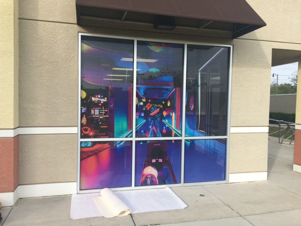 Best Vinyl Window Graphics in Orlando FL