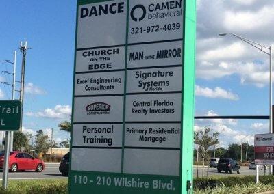 Camen_Behavioral_shopping_center_street_sign