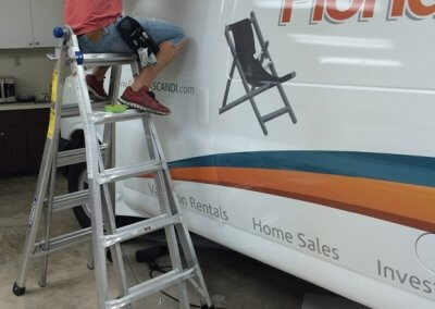 Florida_Scandia_Van_Wrap_Installation