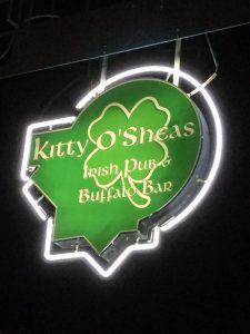 Exterior illuminated sign