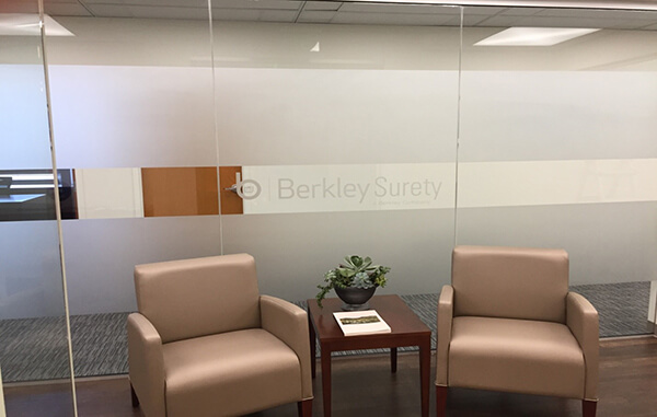 berkley surety orlando interior signs