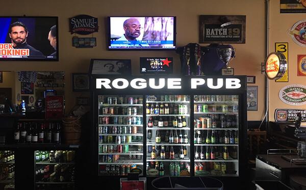 roque pub orlando signage