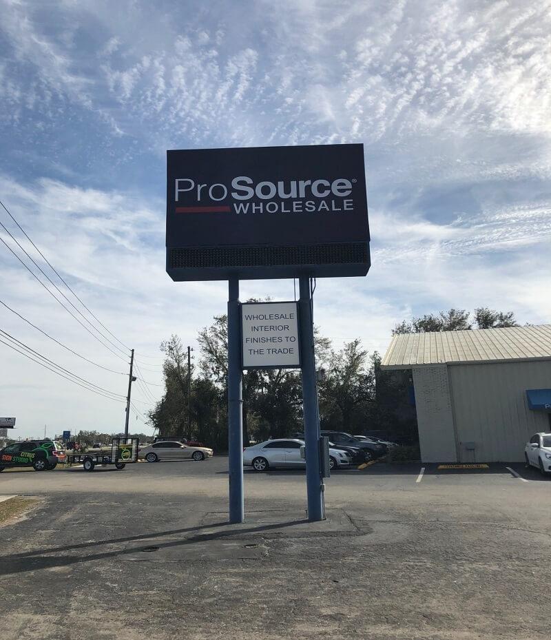Landscape Commercial Sign: Refreshed Business Signage For An Established Business