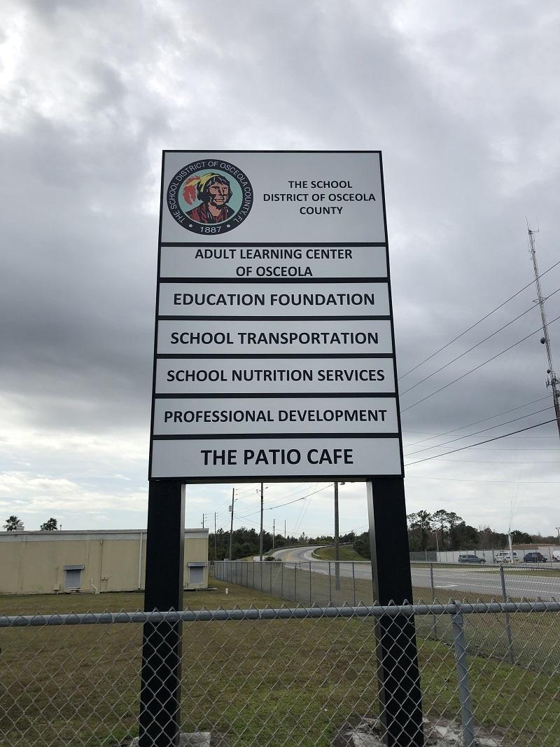 exterior signage
